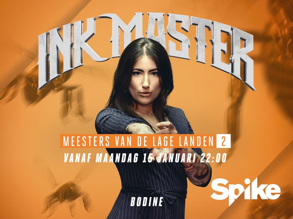 Bodine Ester – deelnemer Ink Master 2018 Spike TV Nederland (Interview)