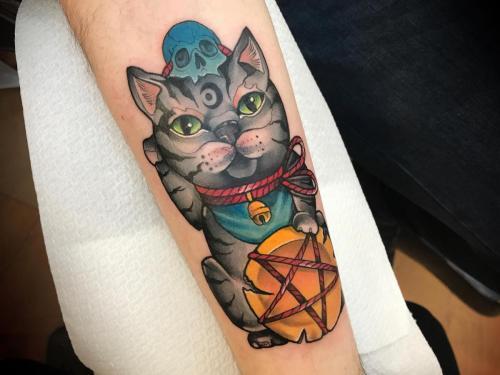 Neotraditional Amsterdam Bodine Ester Inkmaster Beste TattooShop