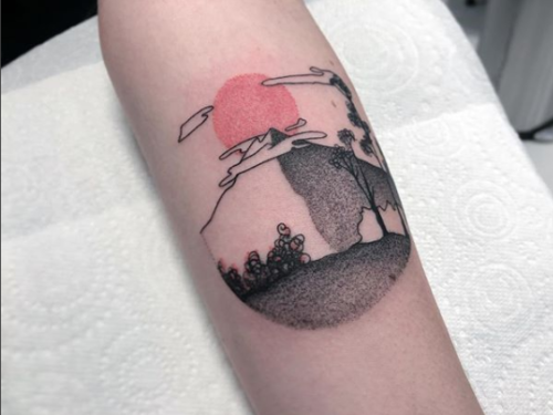 Bodine Ester Amsterdam Fineline Tattoo 30