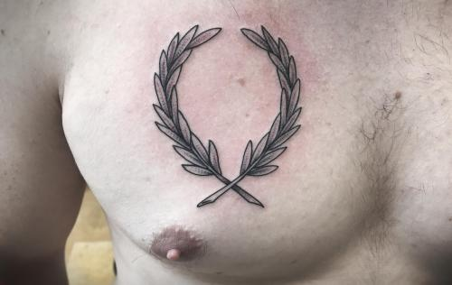Fred perry tattoo