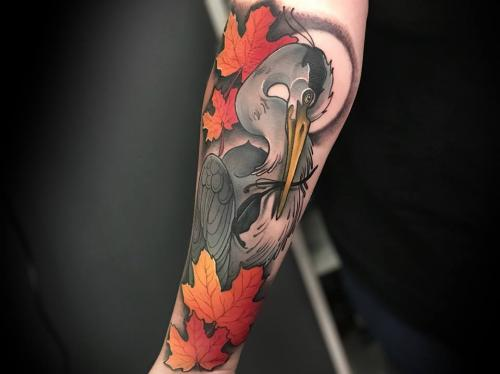 Heron-tattoo-mapleleaf-tattoo