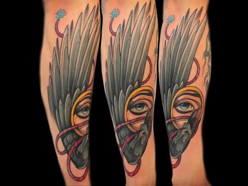 Neotraditional-raven-tattoo-sleevetattoo (2)