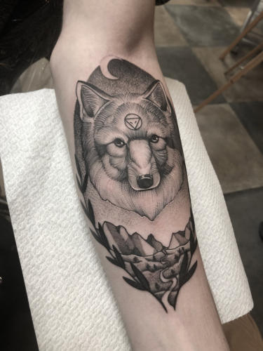 Wolf-tattoo-amsterdam-tattooshop